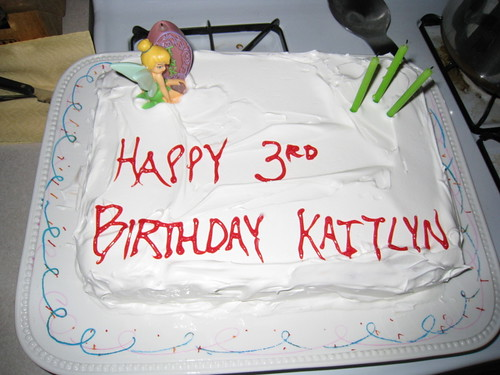 Kaitlyn's 3rd Birthday