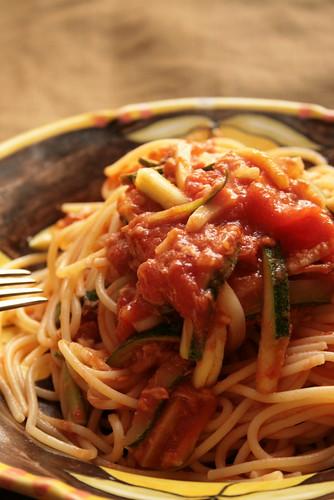 Spaghetti Etiquette in Italian Food
