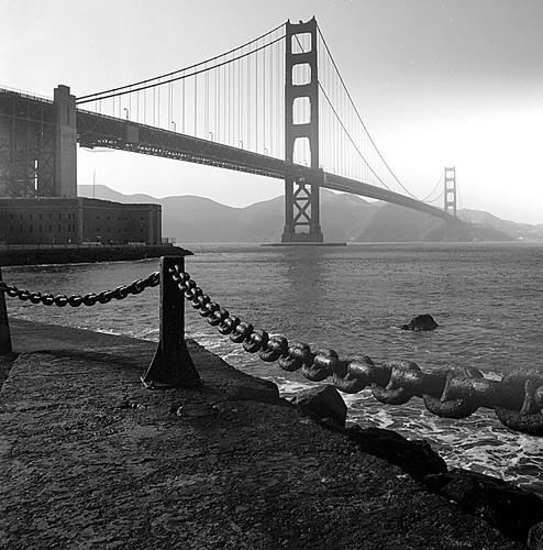 Golden Gate Bridge, Fort Point, San Francisco, CA