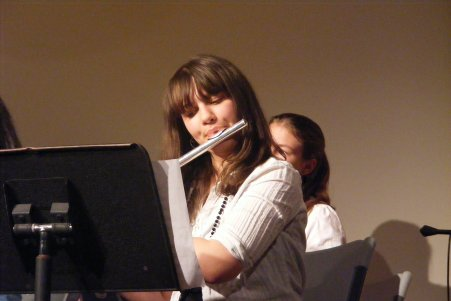 Tess on Flute