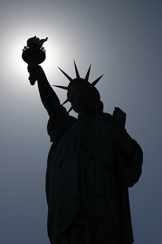 Statue of Liberty by Bravo Whiskey on flickr