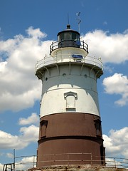 """Kate's Light"" Robbins Reef Lighthouse, Bayonne NJ (jag9889) Tags: new york light lighthouse house island bay newjersey kate nj katherine upper walker kayaking reef 2008 bayonne robbins hudsoncounty y2008 jag9889"