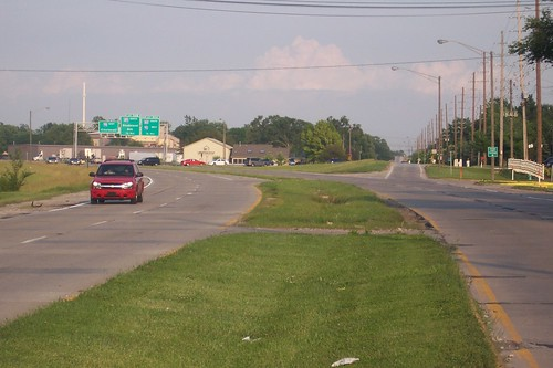 Michigan Road at Old US 421