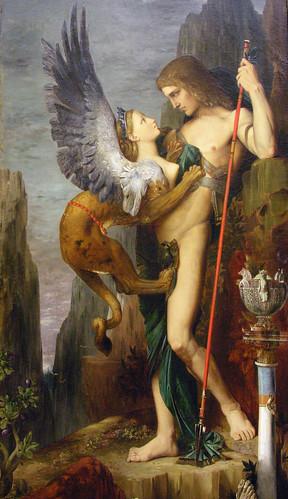 Oedipus och sfinxen