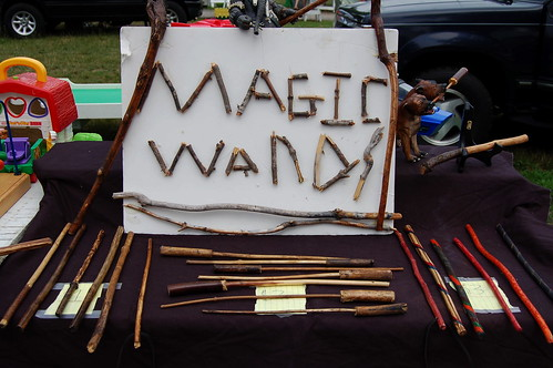 Magic Wands are serious business