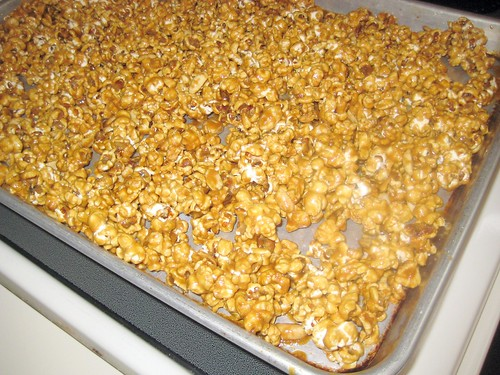 Tray of Caramel Corn