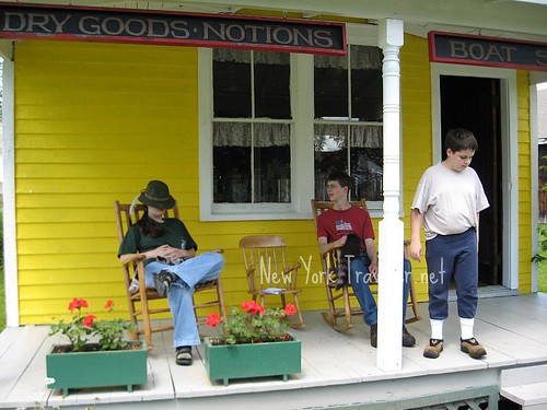Relaxing at General Store