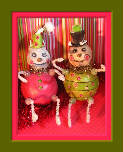 SnowPal Ornaments for SpookyTimeJingles.com July 13, 2008