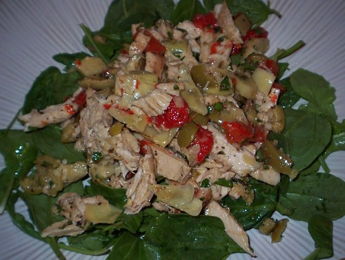 chicken artichoke olive salad
