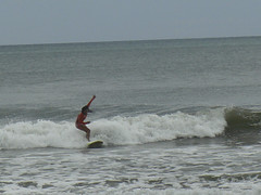 surfing in Playa Amarillo