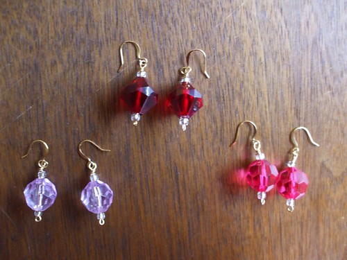 solo earrings at Church of Craft this Sunday