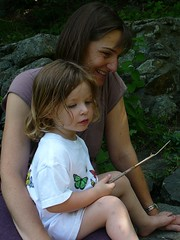 cassie and charlotte by the pond (alist) Tags: alist dublinnh charlottelasky cassiecleverly alicerobison july2008 ajrobison