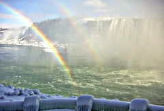 NIAGARA --Thank You ! --  12oo !!  :-)) (DDiamond1 ... Off) Tags: sky ice water niagarafalls rainbow niagara clear thegalaxy 100commentgroup
