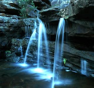 Bullawarring Track Waterfall