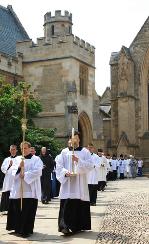 Procession from chapel