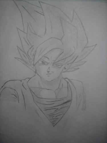 goku super saiyan drawing. Goku Super Saiyan