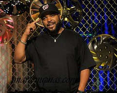 ice cube talking about something