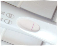 Pregnancy Test - Negative