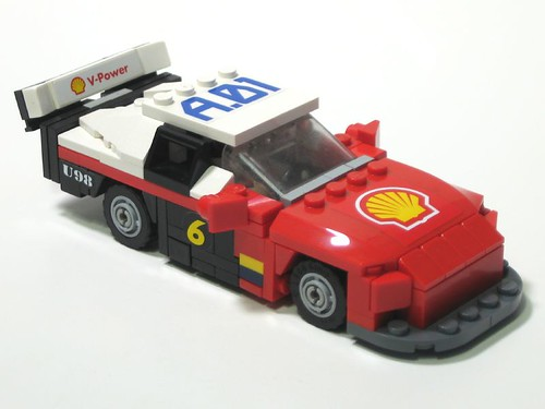 Nascar toy and Lego Daytona Stop motion - YouTube