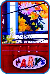Mary's - East Atlanta (swampzoid) Tags: gay atlanta red sign bar j colorful c mary billboard east marys karaoke billboards eastatlanta rouse gaybar flowes 4044 glenwoodave gayatlanta cjrouse