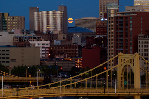 Pittsburgh Moonrise 5713