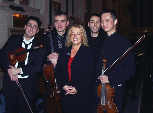 ZHL strings with Campaign Director, Angie Davidson