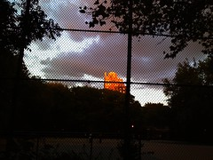 Christadora House Sunset in the East Village by jebb, on Flickr