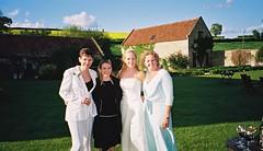 Janine, Sadie, Helen & Brinnie (bagpusscat) Tags: wedding helen janine brinnie