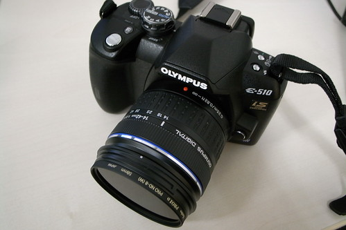 OLYMPUS E-510買った