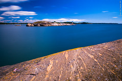 The blue silky waters (Rob Orthen) Tags: longexposure sea summer sky clouds suomi finland landscape nikon rocks europe rob nd scandinavia meri maisema archipelago kes d300 saaristo korppoo neutraldensity turunsaaristo 175528 orthen loisto roborthenphotography rengastie saaristonrengastie