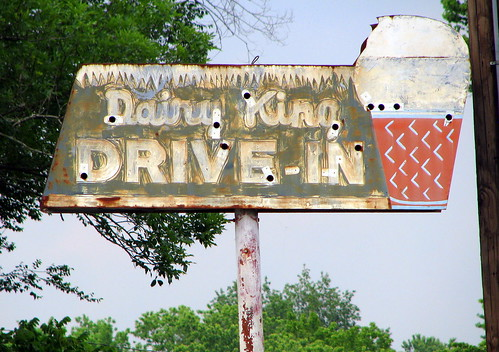 Dairy King sign