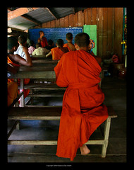 Buddhist School, Angkor, Cambodia