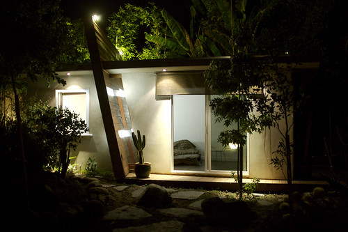 North Facade — NIght house design