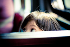 PeekaBoo (tomms) Tags: toronto ontario canada public girl peekaboo tram transit streetcar bathurst 501 tansport blursurfingcom