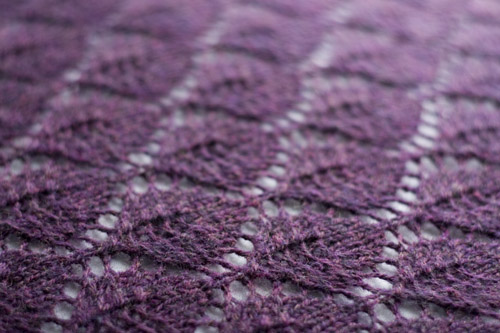The Potential Of Yarn Fo Lace Leaf Shawl
