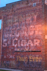 Henry George 5 cent Cigar Ghost Sign (anglerove) Tags: tower minnesota painted cigar faded ghostsign ghostad henrygeorge brickad henrygeorgecigar