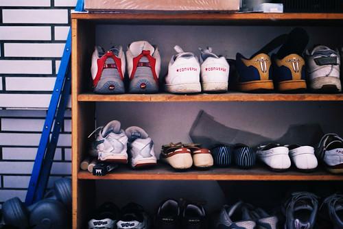 鞋架~沒有一雙是我的 XD