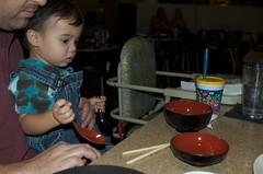 Benji got some bowls