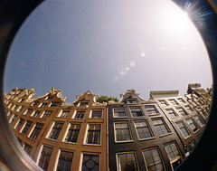 Fish does condos (kevin dooley) Tags: camera favorite house fish holland building eye film beautiful amsterdam architecture analog 35mm wow interesting fantastic lomo lomography flickr pretty open apartment very good gorgeous awesome north wide award superior super row best fisheye most condo winner stunning excellent much eyed rent incr
