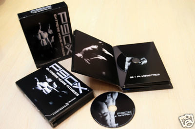 P90X + P90X PLUS Fitness Training System 17 DVDS D9 format
