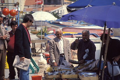 mondello - pescioliiiiino (zecaruso) Tags: sea italy fisherman italia sicily caruso palermo sicilia ciccio sud pescatore pesce mondello nikonf601 zecaruso cicciocaruso