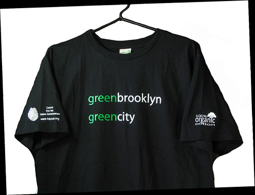 Green Brooklyn T-Shirt - Front