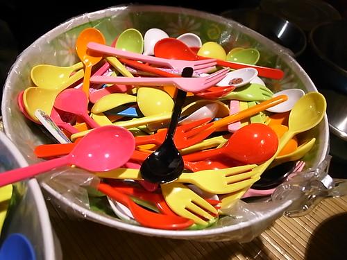 可愛小叉和湯匙