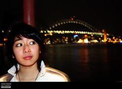 Nisita Marella (Kyaw Photography) Tags: bridge canon eos rocks harbour sydney marella nisita 450d
