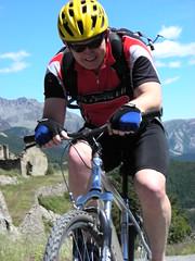 DSCN0600 (Hannibal Cycle tours / Belvedere B&B) Tags: italy holiday cycling italia mountainbike crosscountry fenestrelle valchisonemountainbike colledellefinestra alpinebiking