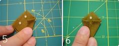 Como dobrar kanzashi 3 (super_ziper) Tags: diy blog flor tutorial tecido croche enfeite kanzashi superziper