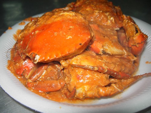 sweet sour chilly crab