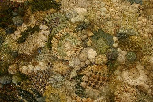 freeform fabric closeup