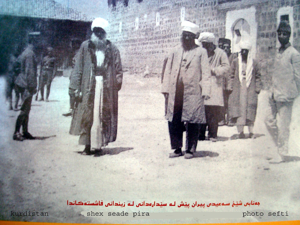 Shêx Said Piran - Kurd ledare 1925 i  Kurdistan