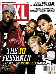 wale b.o.b charles hamilton asher roth  xxl magazine the freshmen 10 cover